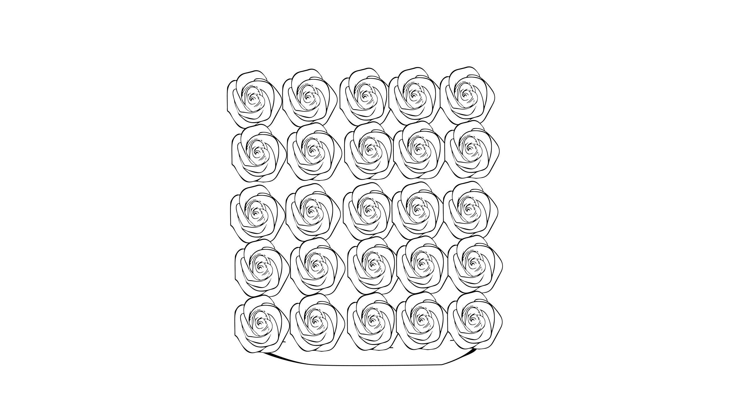 Icon für die mittelgroße eckige Rosenbox